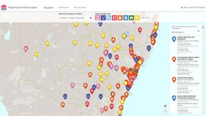 Mapping the NSW Budget
